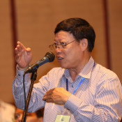 Man on 2nd Regional Stakeholder Forum on Pak Beng Hydropower