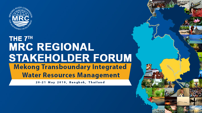 The 7th MRC Regional Stakeholder Forum cover