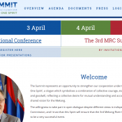Website of 3rd MRC Summit and Intl Conference MRC2