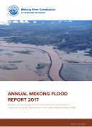 Annual Mekong Flood Report 2017 cover