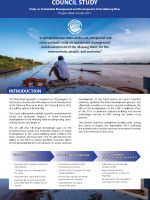 Council Study on Sustainable Management and Development of the Mekong River