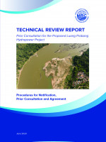 Technical Review Report on Luang Prabang Hydropower Project