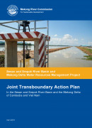 Joint Transboundary Action Plan report Sesan and Srepok River Basin and Mekong Delta cover