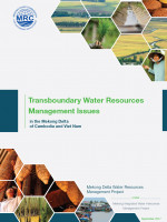 Transboundary Water Resources Management Issues in the Mekong Delta of Cambodia and Viet Nam