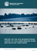MRC Technical Report on the 2015 biomonitoring survey cover