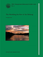 Modelling the Flow of the Mekong