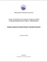 Prior Consultation Project Review Report for Proposed Xayaburi Dam Project