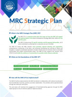 MRC Strategic Plan 2021-2025 Fact Sheet