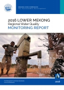 2016 Lower Mekong Regional Water Quality Monitoring Report cover