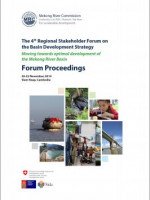 4th Regional Stakeholder Forum on the Basin Development Strategy: Forum Proceedings