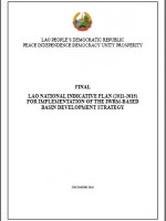 Lao National Indicative Plan (NIP) for Implementation of the IWRM-Based Basin Development Strategy 2011-2015