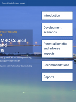 Interactive report for the Council Study