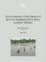 Socio-economics of the Fisheries of the Lower Songkhram River Basin, Northeast Thailand