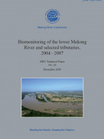 Bio-monitoring of the Lower Mekong River Basin and Selected Tributaries 2004-2007