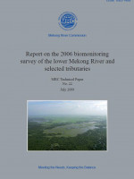 Bio-Monitoring Survey of the Lower Mekong River Basin and Selected Tributaries 2006