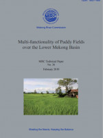 Multi-Functionality of Paddy Fields over the Lower Mekong River Basin