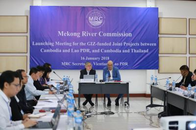 Media Release: Mekong River Commission Launches Two Joint Projects